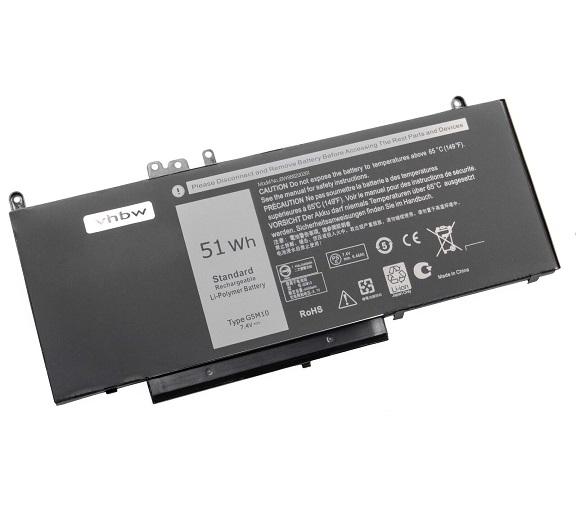 μπαταρία για Dell E5450 Latitude 3150 3160 E5250 E5450 E5550 6MT4T 8V5G συμβιβάσιμος