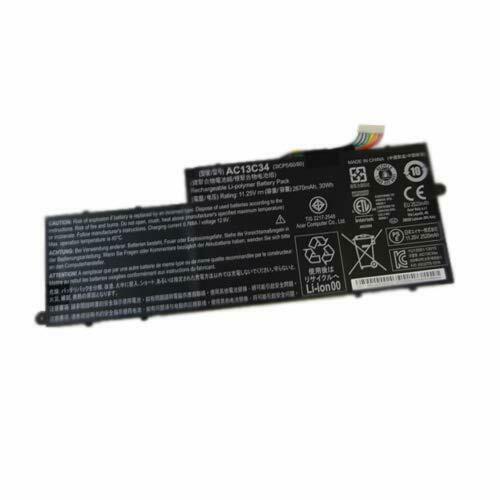 μπαταρία για ACER AC13C34 E3-111-C5N3 E3-111-C5Q2 E3-111-C1R7 E3-111-C8K0 συμβιβάσιμος