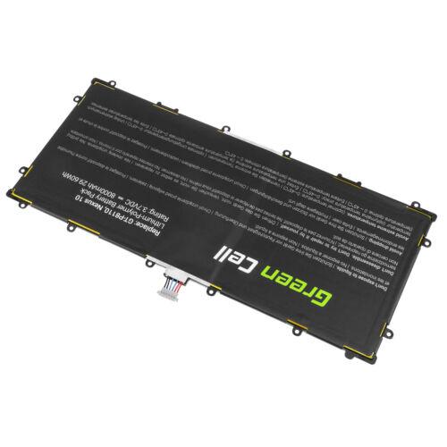 μπαταρία για Samsung Google Nexus 10 GT-P8110 P8110 8000mAh συμβιβάσιμος